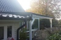 Terrassendach mit Echtglas 2